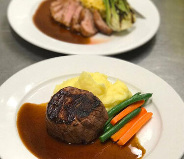 FILET MIGNON & PAN SEARED DUCK BREAST SPECIAL
