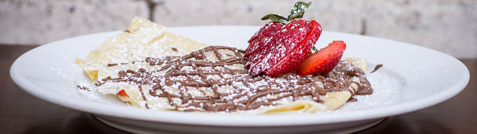 Brasserie Nutella and Strawberry Crepe